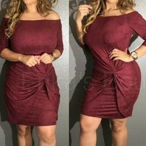 Dresses & Skirts - Burgundy plus size 2x dress
